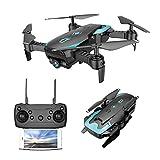 X12 FPV Collapsible Remote Drohne Mit Kamera Quadcopter Mit Einstellbarem Weitwinkel 720P HD WIFI Kamera - Folgen Sie Mir, Um Eine 360-Grad-Drehung Ohne Kopf-Modus Aufrechtzuerhalten One-Click Return To Play