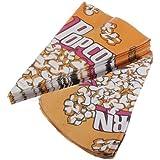 Paquete de papel Bolsas de palomitas de ma'z de caramelo de la galleta Cine de contenedores