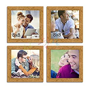 Painting Mantra Happiness is Homemade Glass Wall Photo Frame Gold