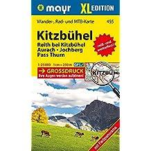 Kitzbühel XL: Wander-, Rad- und Mountainbikekarte. GPS-genau. 1:25000 (Mayr Wanderkarten)
