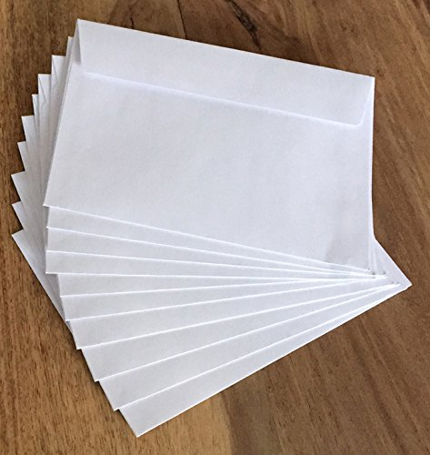 10 Trauerkarten In stiller Anteilnahme inklusive 10 haftklebender Briefumschläge