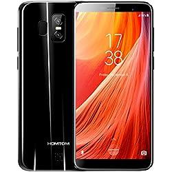 """HOMTOM S7 - 5,5"""" 4G FDD-LTE Smartphone, Infinity Display, Android 7.0 Quad Core 3GB+32GB, Fotocamera 13MP+2MP, Frontale 8MP, Impronte Digitali, Dual SIM, Telefono Cellulari Sbloccato"""