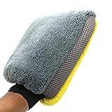 VISLONE Guanto per Lavaggio Auto, Guanto in Microfibra per la Pulizia dell'Auto, per Una Pulizia Delicata ed Efficace (1 Pezzo)