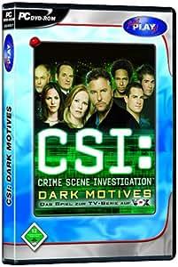 CSI: Crime Scene Investigation - Dark Motives (DVD-ROM) - Import Allemagne