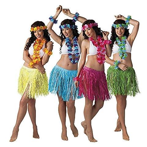 Hawaii-Set 4-teilig in 4 Farben