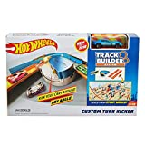 Hot Wheels Track Builder Custom Curve Kicker Playset Version Anglaise