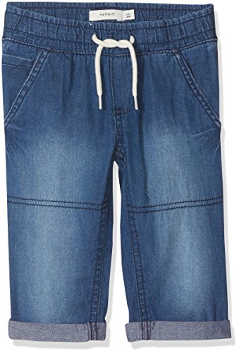 NAME IT Jungen Shorts Nmmryan Dnmaben 3051 Knickers Noos Blau (Dark Blue Denim), (Herstellergröße: 104)