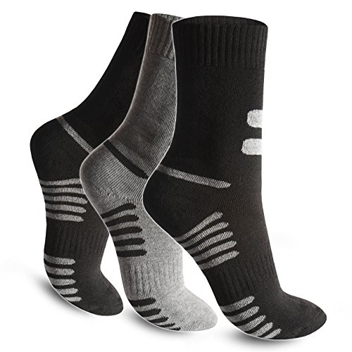 4 / 8 / 12 / 20 Paar Best Basics Herren Socken Thermosocken Warme Dicke Winter Sport Ski Arbeitssocken (43/46, 4 Paar) (Socken Winter Beste)