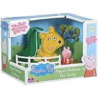 Peppa Pig – Les Balançoires de Peppa – Décor + 1 Mini Figurine