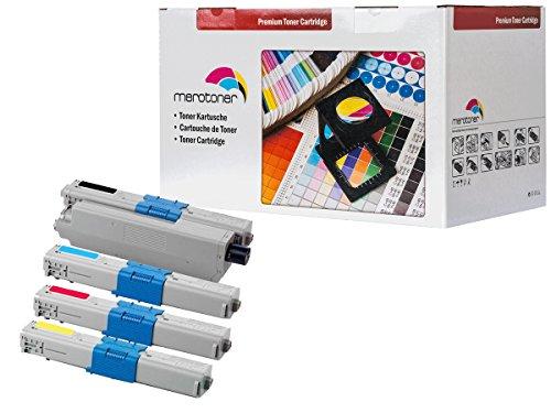 Preisvergleich Produktbild 4 x XXL Toner Set Kompatibel zu Oki C310 , C310 DN , C330 , C330DN , C331 , C331DN , C510, C510DN , C511 , C511DN , C530 , C530DN , C531 , C531DN MC351DN MC352DN MC361DN MC362DN MC561DN MC562DN Oki (43865803 43865706 43865705 43865704) (3.500 Seiten Schwarz Je Farbe 2.000 Seiten C/Y/M)