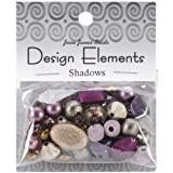 Jesse James Kunststoff Design Elements Beads 28 g-shadows