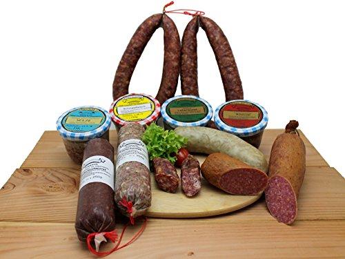 Thüringer Probier-Paket  Thüringer Wurst Spezialitäten  ca. 2,2kg  Fleischerei Eismann