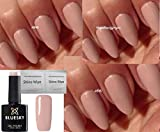 BLUESKY qxg Nackt Nude Collection Nagellack-Gel UV-LED-Ablösend 10 ml plus 2 LuvliNagel Schein Tücher