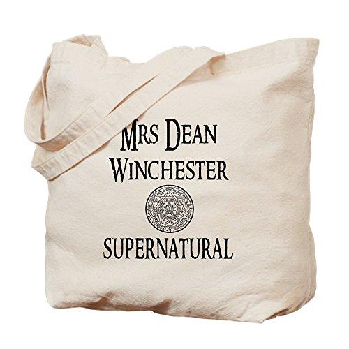 CafePress-Frau Dean Winchester Supernatural-Leinwand Natur Tasche, Reinigungstuch Einkaufstasche S khaki -