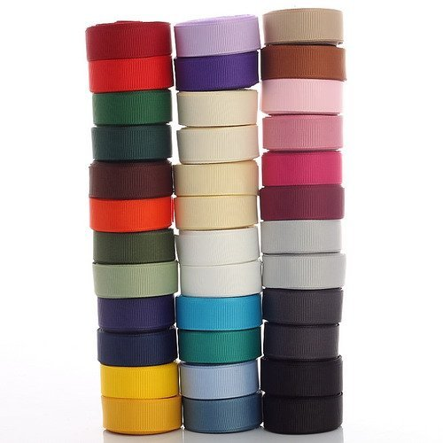 Neotrims Grosgrain Petersham Lot de rubans 15 mm