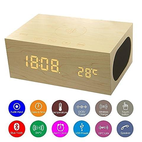 Neu rein gekommen – Multifunktion Bluetooth Lautsprecher, NANAMI beweglicher Lautsprecher