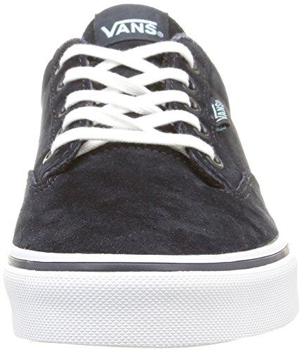 Vans - W Winston Mte, Sneaker Donna Nero (Mte/Blue Graphite/White)