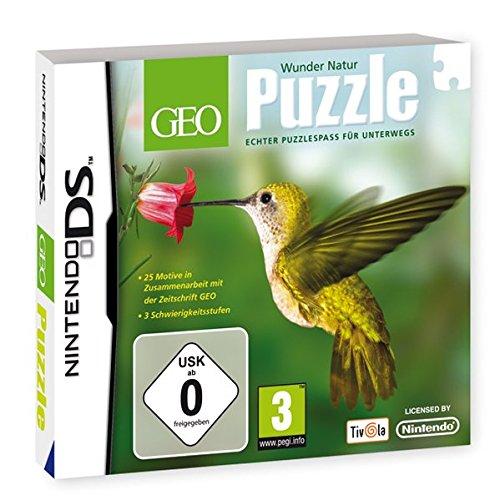 GEO Puzzle: Wunder Natur - [Nintendo DS] - Nintendo Wort-spiele Für Ds
