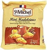 St Michel - Mini Madeleines con Gocce di Cioccolato - 4 confezioni da 175 g [700 g]