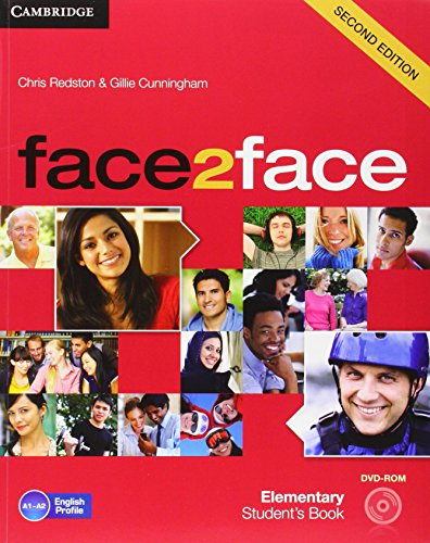 face2face for Spanish Speakers Elementary Student's Book with DVD-ROM and Handbook with Audio CD Second Edition por Redston