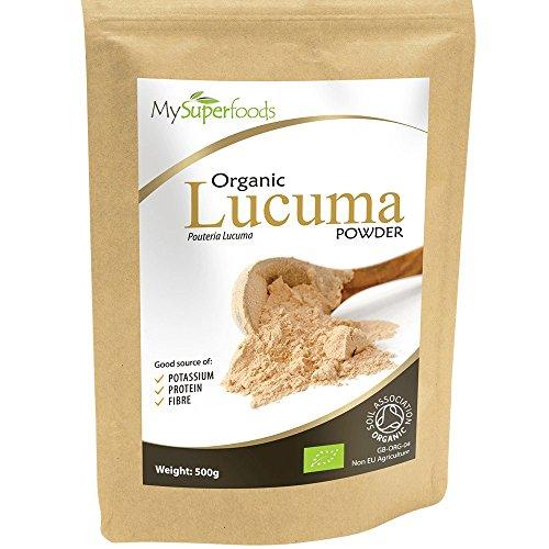 Bio Lucuma Pulver (200g) - MySuperFoods - Peruanische Früchte mit natürlichem süßem Geschmack - Hoch an Protein, Calcium und Phosphor - Zertifiziert von der Soil Association
