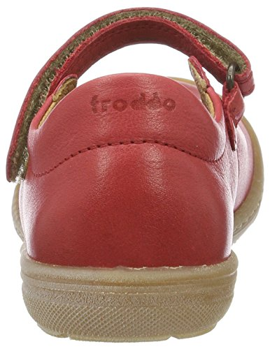 FRODDO Froddo Mary Jane Shoe G3140061-3, Mary Jane fille Rot (Red)