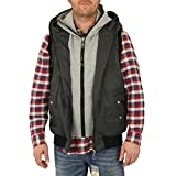 Lonsdale London Herren Weste Stevenage Herringbone grey - XL