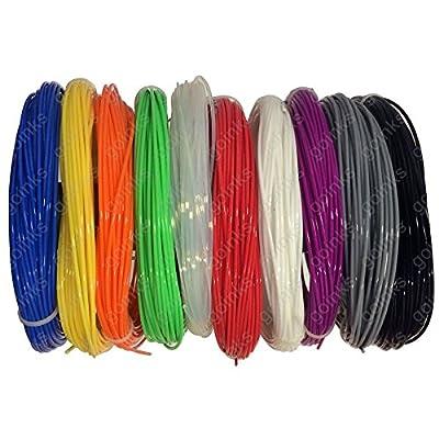 3D Printer Filament - PLA - 1.75mm - 500g (0.5KG) - Various Colours Available
