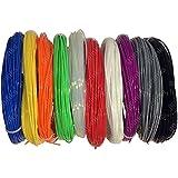 Regenbogen -Packung mit 3D-Drucker Filament - 0.5KG (500g) / PLA / 1.75mm - 10 Farben