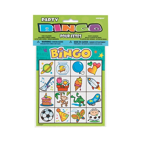 Bingo - Juego animado Cumpleaños infantiles