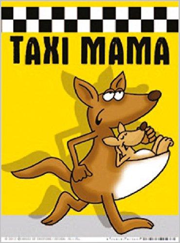 Mamas Taxi An Bord Autokennzeichen Neuheit Mama Geschenk Pr/äsentieren Witzgeschenk Autoschild Baby on Board