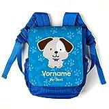 Striefchen® Kinderrucksack für Kita - Hund - mit Gratis Aufdruck des Namens und Gruppe