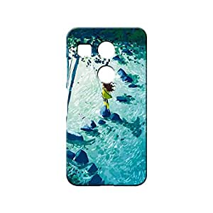 BLUEDIO Designer 3D Printed Back case cover for LG Nexus 5X - G5764