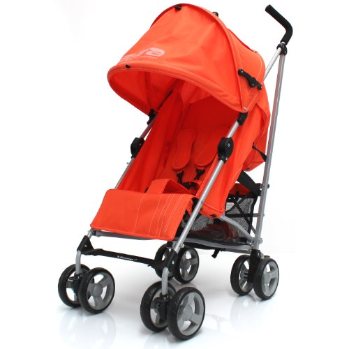 Zeta Vooom Stroller (Orange) 51BTrfTyJnL