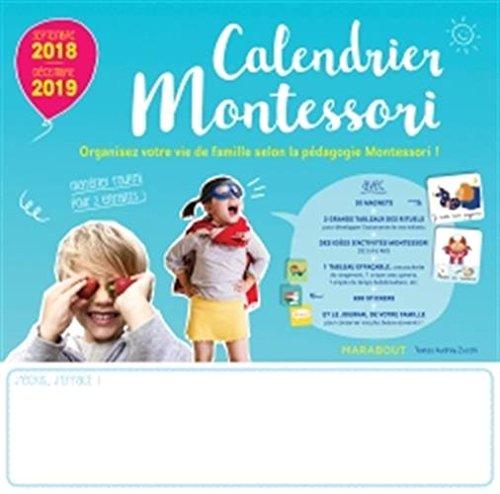 Calendrier Montessori 2018 - 2019