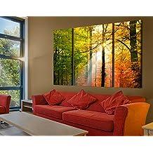 Cuadro en lienzo Morning Light tríptico II, cuadros, cuadro lienzo, cuadro de lienzo, cuadro sobre lienzo, cuadro moderno, cuadro decoracion, cuadros decorativos, cuadro xxl