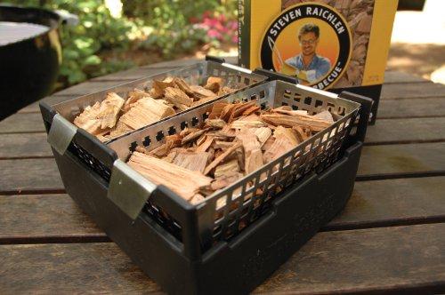 Räucherkiste mit Holzchips für Grill - SR8023
