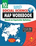 10th Standard Social Science Map Work Book English Medium Tamilnadu State Board Samacheer Syllabus