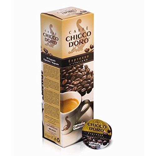 100 Capsule Caffitaly System Caffe' Chicco D'Oro Espresso L'Italiano