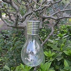 Camping extérieur rotatif de jardin extérieur accrochant d'ampoule solaire suspendue 5 LED d'éclairage ampoule solaire respectueuse de l'environnement