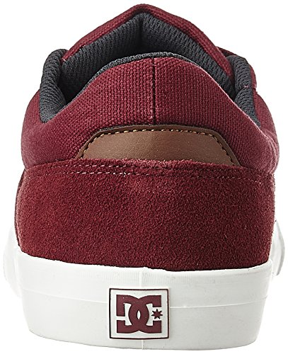 DC Skate Shoes - DC Wes Kremer Signature Shoes - Black/Grey/White Burgundy