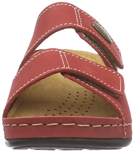 Tamaris - 27510, Ciabatte Donna Rosso (Rot (RED 500))
