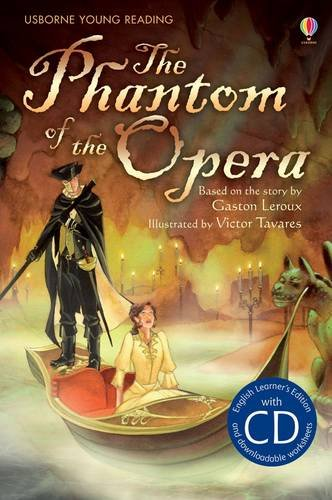 The Phantom of the Opera: Usborne English (Usborne English Learners' Editions) (Young Reading Series 2)