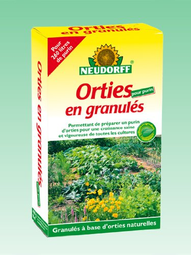 Neudorff 617084 Purin d'Orties en Granules, Vert, 4,4 x 10,5 x 18 cm