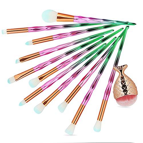 DaySing Brosse Makeup Brushes,Professionnelle Kits ,12Pc Pinceaux De Maquillage Pinceau CosméTique De La Base De Poudre Fard à PaupièRes Makeup Brushes Brush Beauté Maquillage