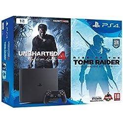 51BTvboGa0L. AC UL250 SR250,250  - PlayStation 4 Slim+Uncharted 4+Tomb Raider in offerta lampo per la Amazon Gaming Week 2016