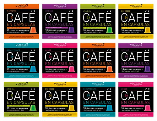 VIAGGIO ESPRESSO - 120 Cápsulas Café Compatibles