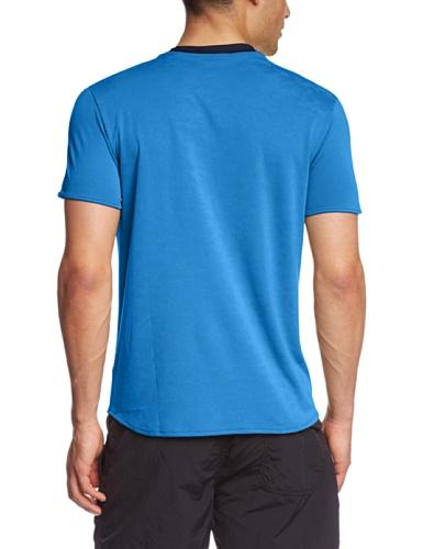 Lotto sport 1000–Maglietta a maniche corte da uomo Multi-Coloured - Blue Moon/deep Navy