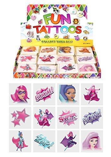 eld Temporäre Tattoos Kinder Geburtstag Beute Partytüte Füller ()