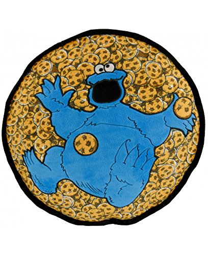 Sesamstrasse Kissen Krümelmonster Cookie Monster 40cm Sesame Street Dekokissen